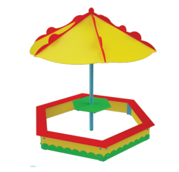 P56 | Пiсочниця з парасолькою