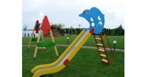 Горка - неотъемлемая часть любой детской площадки